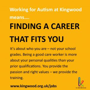 Working for Autism at Kingwood means finding a career that fits you