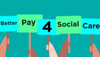 #BetterPay4SocialCare graphic