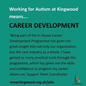 Working for Autism at Kingwood means career development