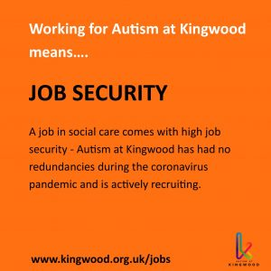Working for Autism at Kingwood means job security