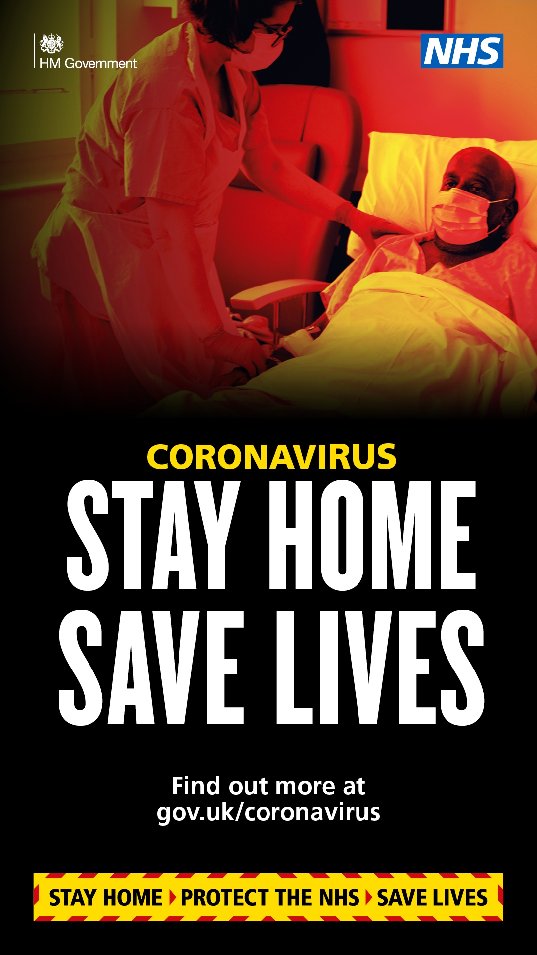 Covid-19 Stay Home Save Lives