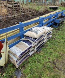 ornamental gravel donated to Autism at Kingwood's DIY and horticulture projects